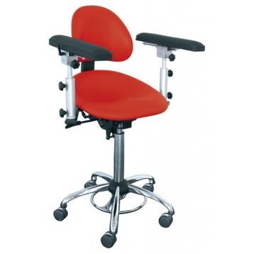 OP-Stuhl ERGOsit Support + Armlehnen + Führungsschienen für Armauflage (1 Paar)