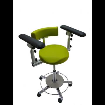 OP-Stuhl ERGOsit Regular Anatomisch , mit Fußtableau