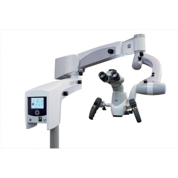 Dentalmikroskop Zeiss PROergo am Bodenstativ S7