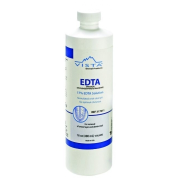 Vista EDTA Spüllösung 17 %, Flasche 480 ml